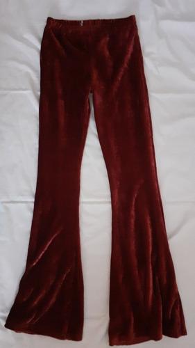 Pantalon Oxford De Terciopelo Elastizado