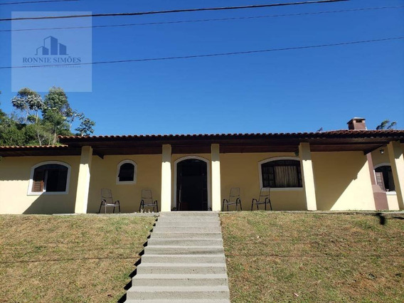 Casa Condomínio Fechado, À Venda, Jardim Brasil, 4 Dormitórios, Sendo 1 Suíte, 340 M² - Embu-guaçu/sp - Ca0119