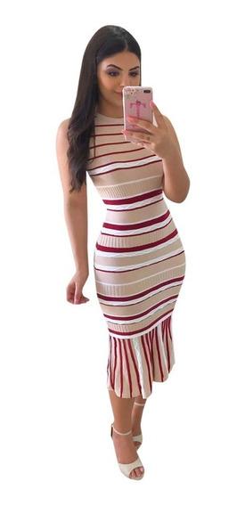 Vestido Midi Moda Evangélica Blogueira Justo