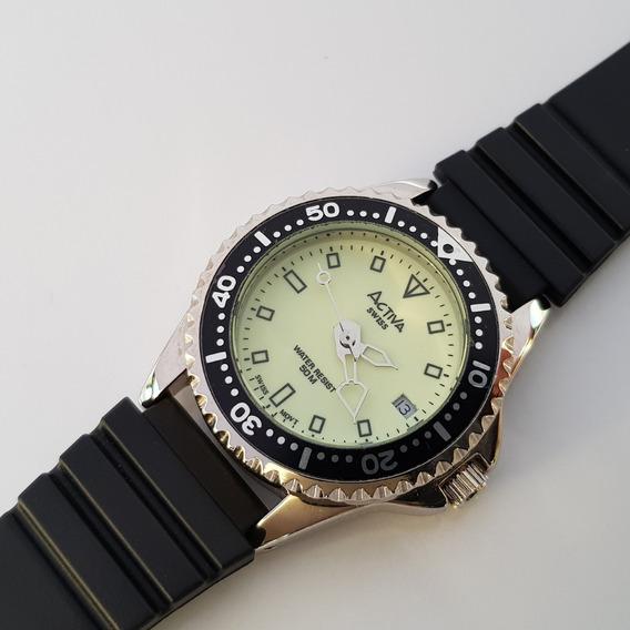Relógio Feminino Activa Swiss Movement Natulite