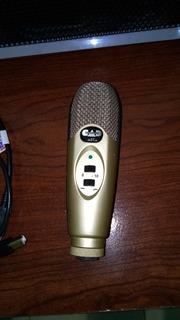 Cad U37 Micrófono De Condensador Usb
