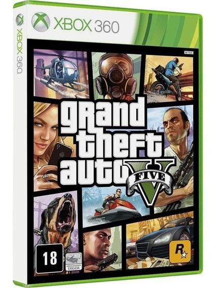 Gta 5 - Jogo P/ Xbox 360 Original - Midia Fisica Lacrado