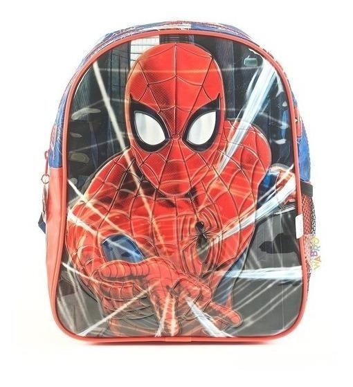 Mochila Spiderman Espalda Jardin Original Once