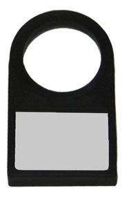20pç Porta Plaqueta Identificação De Botões 22,5mm