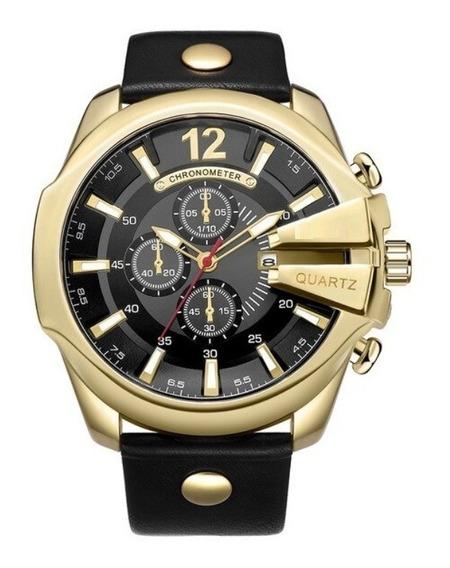 Relógio Pulso Masculino Tipo Bracelete Super Luxo Esporte