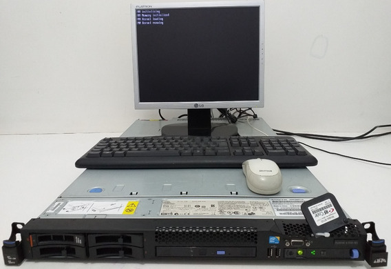 Servidor Ibm X3550 4gb, Xeon E5630 2.53ghz Quadcore, 1hd Sas