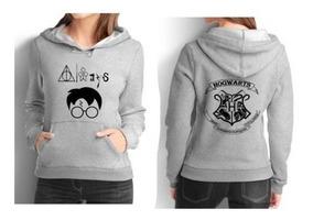 Casaco Moletom Feminina Harry Potter Moleton Blusa Cdf213