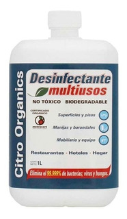 Desinfectante Liquido Citro Organics Multiusos