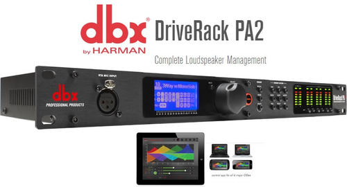 Driverack Pa2 - Procesador De Altavoces Dbx