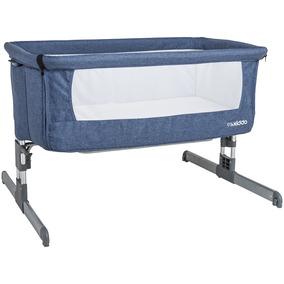 Berço Portátil Com Tela Protetora - Napper - Azul - Kiddo