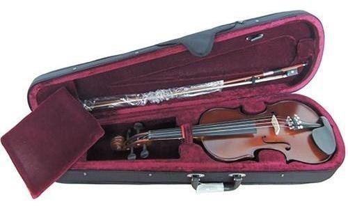 Violin 1/2 Stradella Mv141112 Macizo Tapa Pino Fondo Maple