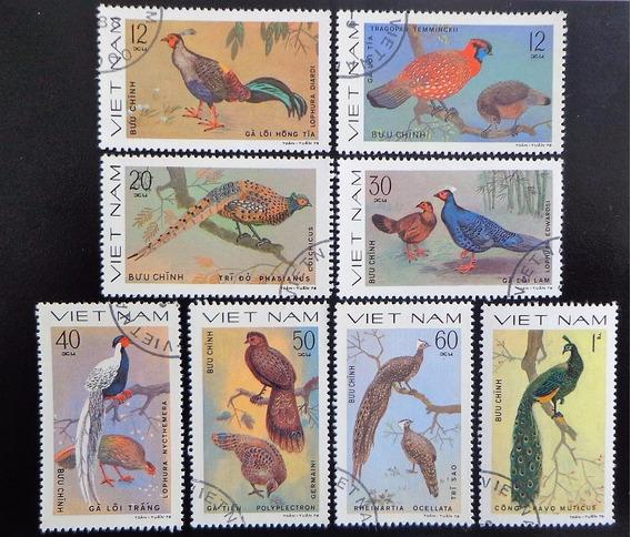 Vietnam Aves, Serie Sc 1009-16 1979 Usada L10050