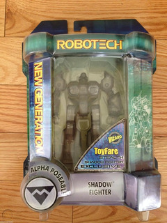 Robotech Shadow Alpha Toynami (rare - Wizard Toyfare Ed Ltd)