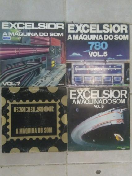 4 Lps Excelsior A Máquina Do Som Frete Grátis