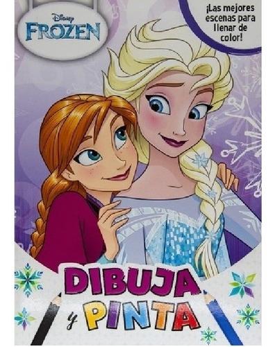 Dibuja Y Pinta. Disney Frozen