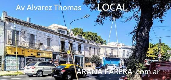 Venta Local 10x15 En Una Planta Apto Todo Destino Villa Ortuzar Av Alvarez Thomas Sin Expensas