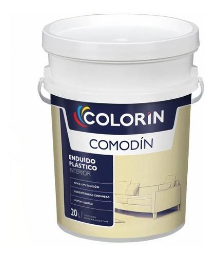 Enduido Plastico Para Interior Comodin 20lt Colorin Rex
