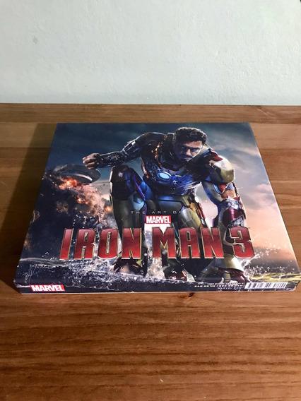Livro The Art Of Marvel Homem De Ferro 3 Iron Man