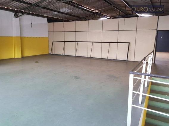 Galpão Para Alugar, 500 M² Por R$ 4.500,00/mês - Vila Bertioga - São Paulo/sp - Ga0350