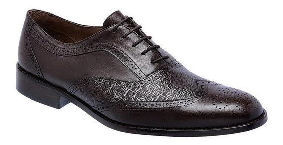 Sapato Social Masculino Oxford Pelica 404 - Frete Grátis