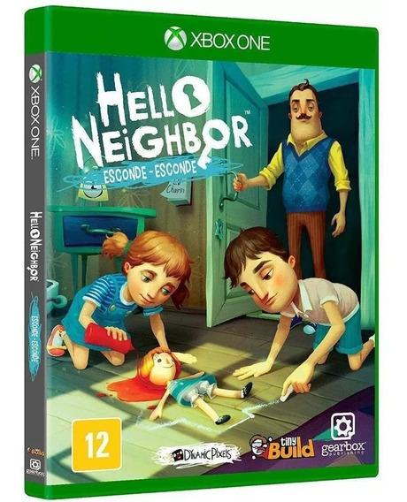 Hello Neighbor Esconde Esconde Xbox One Físico Novo Nacional