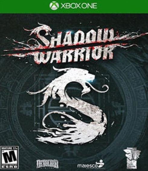 Xbox One Shadow Warrior Novo Lacrado