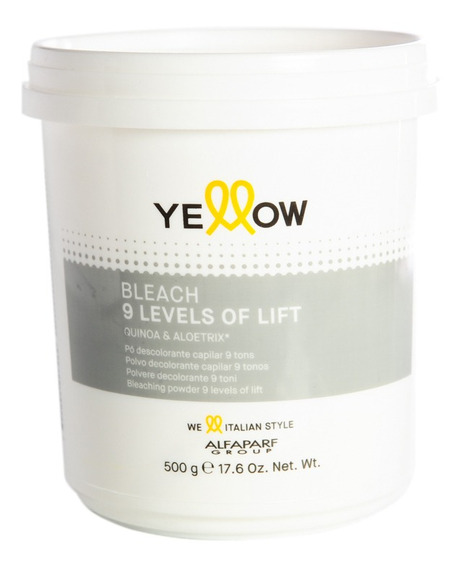 Yellow New Color Bleaching Powder Polvo Decolorante 500grs