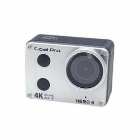Camera Xtreme Goalpro Hero 6 - Wifi - 4k - Prata