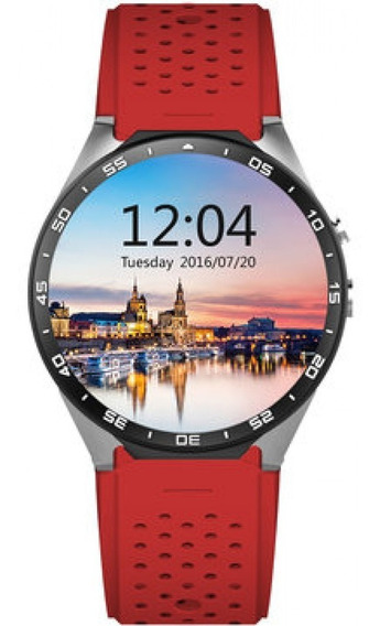 Relógio Inteligente 3g Gps Wifi Android Quad Core Cardíaca