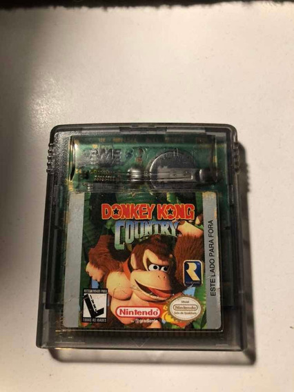 Fita Game Boy Color Donkey Kong Country Gradiente 1998