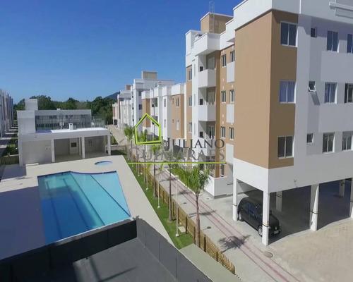 Imagem 1 de 17 de Ótimo Apartamento, Todo Mobiliado, Residencial Á Venda Na Praia De Canasvieiras, Florianópolis Sc - Ap00634 - 69406239