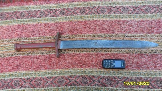 Buen Antigua Espada Artesanal Doble Filo, Robusta No Facon