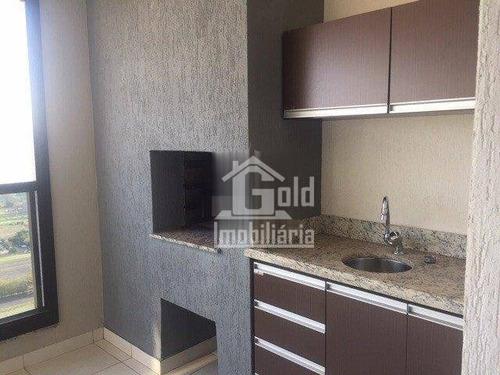 Apartamento Com 3 Dormitórios À Venda, 131 M² Por R$ 770.000 - Nova Aliança - Ribeirão Preto/sp - Ap3990