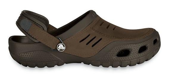 Zapato Crocs Caballero Yukon Sport Café
