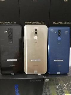 Huawei Mate 20 Lite Nuevos De Paquete + 2 Meses De Garantía.