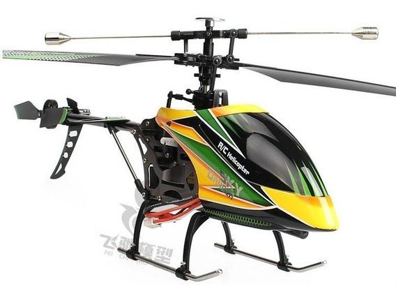 Helicóptero Elétrico Sky Dancer V912 Wltoys 42cm 2.4 Ghz Rtf