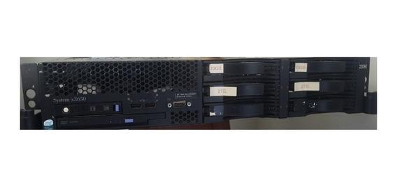 Servidor Ibm X3650 - 12gb Ram - Sas 145gb - Sata 4tb Raid