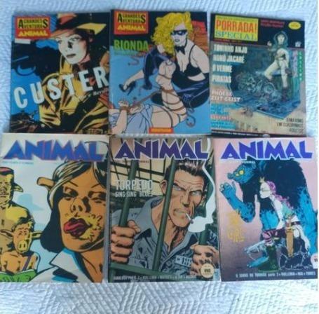 Revistas Chiclete Com Banana, Geraldão, Animal, Pancada, Mad