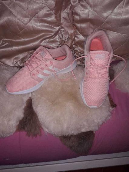 Zapatillas adidas Color Salmón Talle 38 Usadas Casi Nuevas!