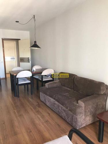 Flat Com 1 Dormitório À Venda, 65 M² Por R$ 215.000 - Centro - São Bernardo Do Campo/sp - Fl0005