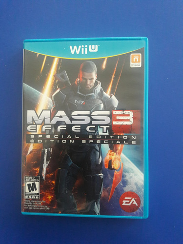 Juego Nintendo Wii U Mass Effect 3 Fisico Original