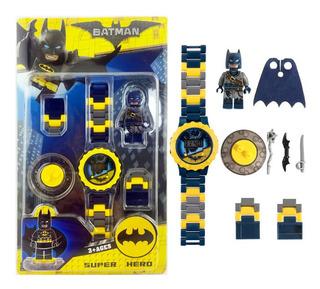 Batman Reloj + 1 Mini Figura De Batman - Fair Play Toys