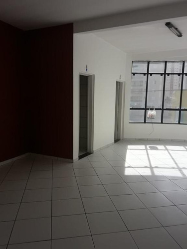 Sala Para Alugar, 50 M² Por R$ 760,00/mês - Vila Valparaíso - Santo André/sp - Sa0537