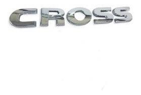 5u7853675a739 Adesivo Logotipo Cross Saveiro 2014 2017