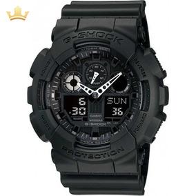 Relógio Casio G-shock Masculino Ga-100-1a1dr Com Nf