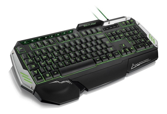 Teclado Multilaser Gamer Warrior Led Macro Antighost Tc189