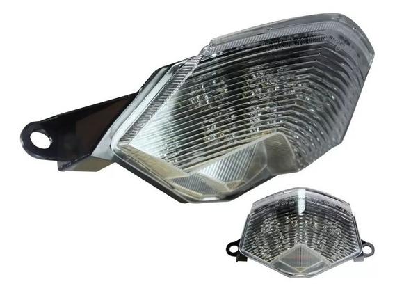 Lanterna Tras Led Zx-10r Piscas Integrados