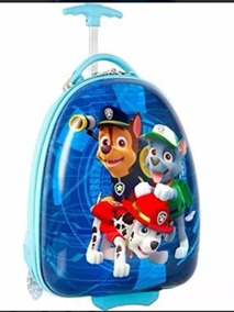 Mochila Azul Paw Patrol Con Ruedas Original Nickelodeon