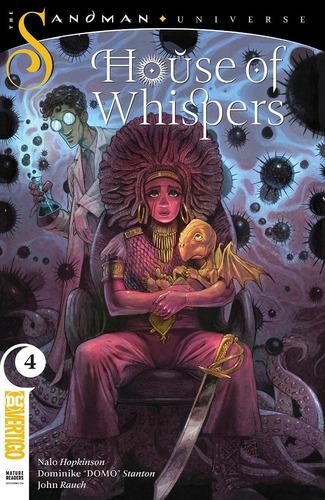 House Of Whispers #4 (2018) Sandman Universe Gaiman Vertigo