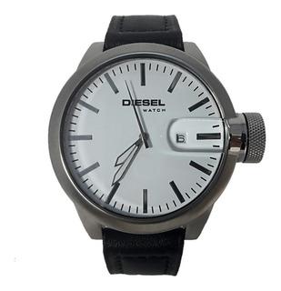 Reloj Diesel Hombre 6630 013 Acero Cuero Fecha Wr 50